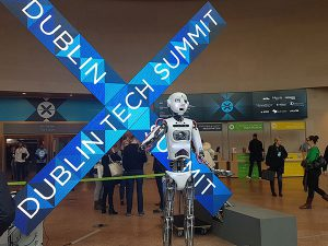 RoboThespian at Dublin Tech Summit
