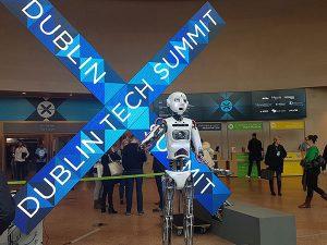 RoboThespian at Dublin Tech Summit