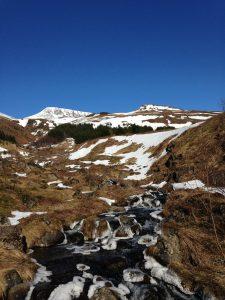 Griangraif a glac Scott De Buitléir san Íoslainn