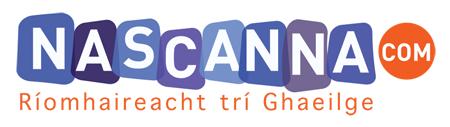 Nascanna.com Text agus Logo