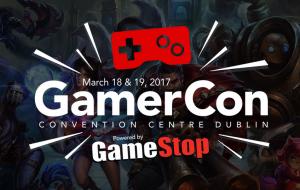 GamerCon i mBaile Átha Cliath Éire Márta 2017 Logo